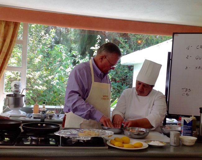 Ecuador's La Mirage Garden Hotel & Spa is offering a 3-day Ecuadorian cooking school package.