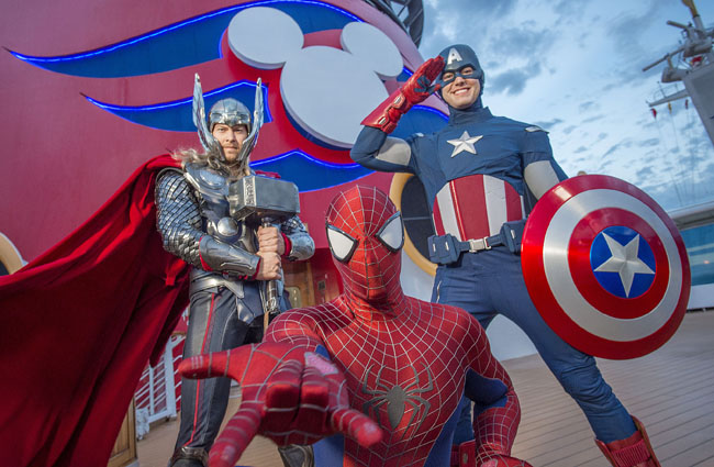 Disney Cruise Line's first ever Marvel Day at Sea will take place on select 2017 sailings.