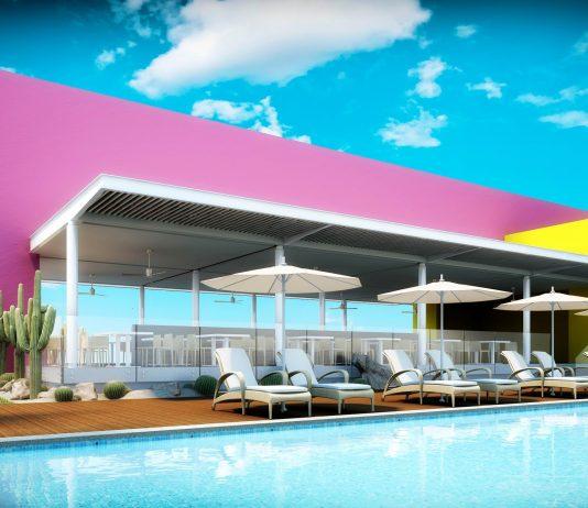 Poolside at the Palapa Royal Service Restaurant. (Photo courtesy of Paradisus Los Cabos.)