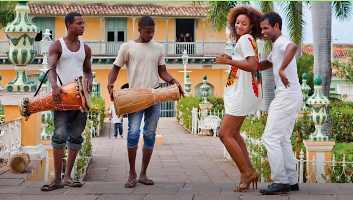 Cuban dancers. (Photo courtesy of Apple Vacations.)
