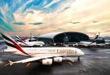Emirates has launched a daily nonstop service between Fort Lauderdale–Hollywood International Airport (FTL) and Dubai International Airport (DXB) (pictured).