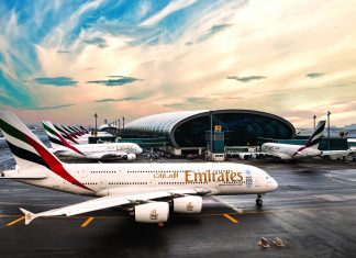 Emirates has launched a daily nonstop servicebetween Fort Lauderdale–Hollywood International Airport (FTL) and Dubai International Airport (DXB) (pictured).