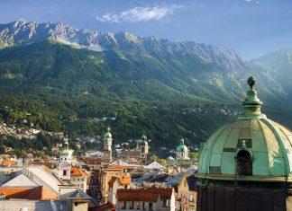 Views of Innsbruck.