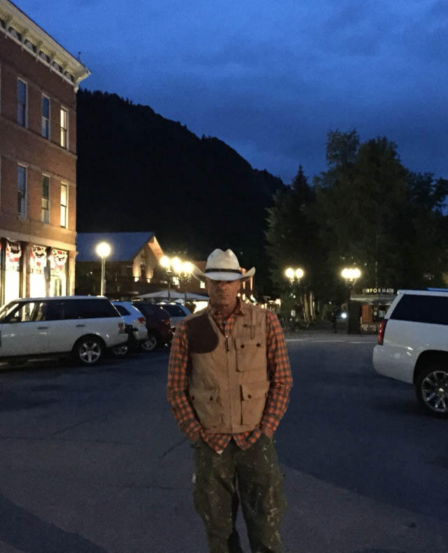 JP Oliver in Breckenridge, Colorado.