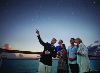 Princess Cruises offers live stargazing experiences on board its ships.