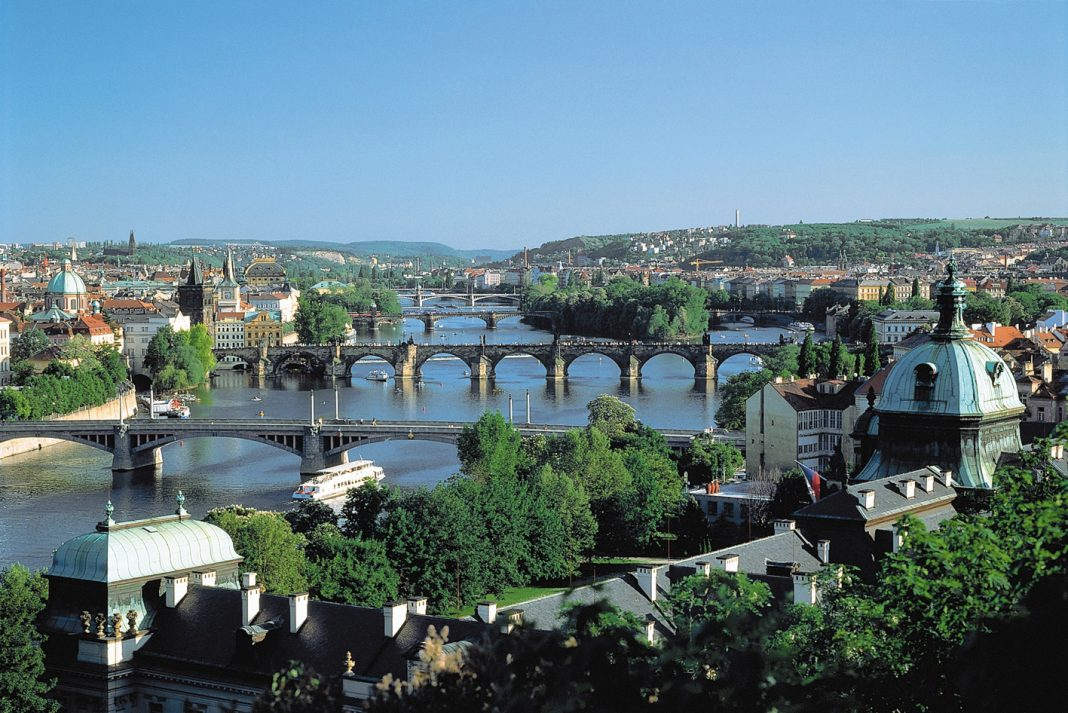 Views over Prague. (Photo credit: CroisiEurope)