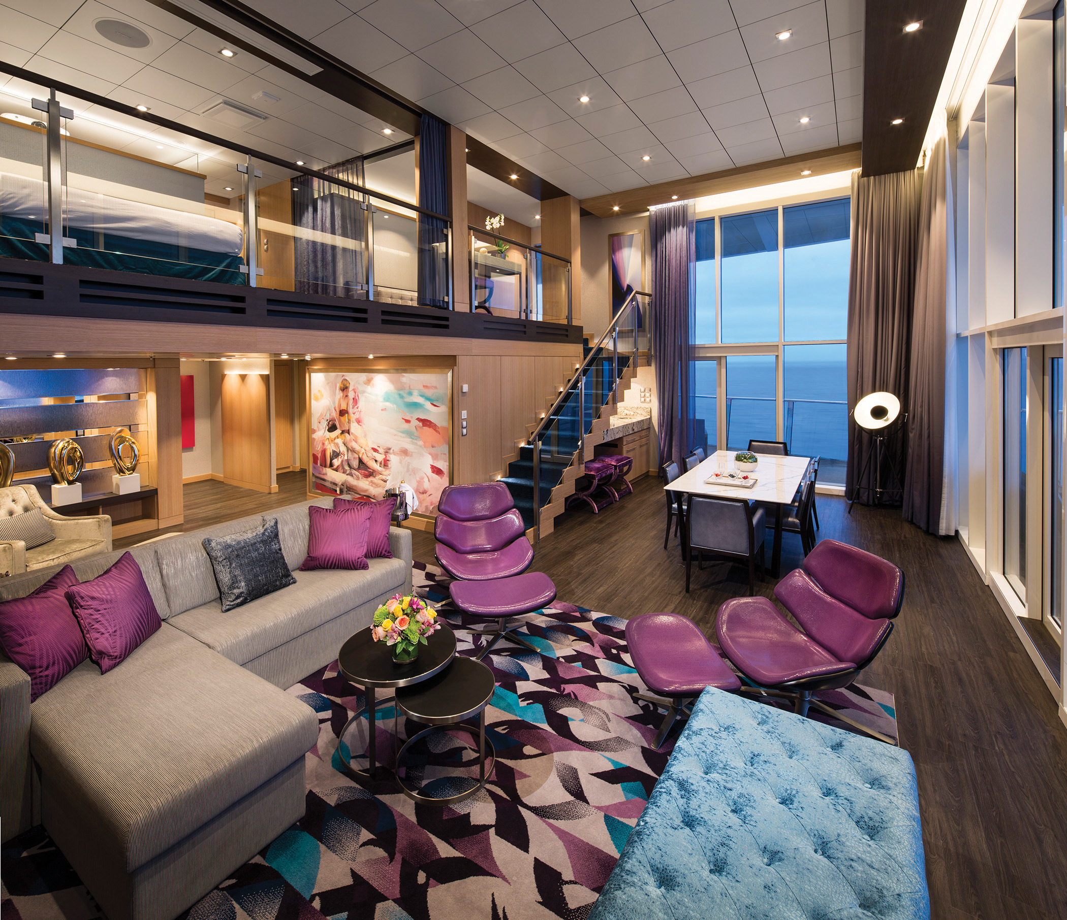 Harmony of the Seas' 2-deck-high suites