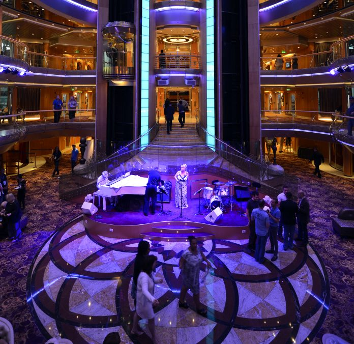 Royal Caribbean International's Brilliance of the Seas.
