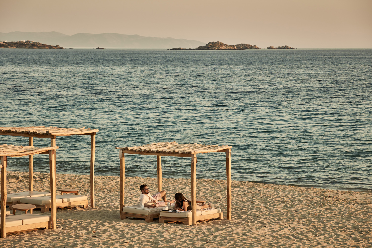 Beachside at theNaxian Collection in Greece.