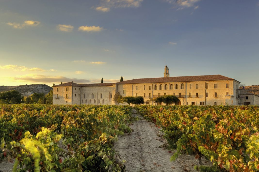 Abadia Retuerta LeDomaine, a 5-star hotel located in Spain's Duerowine growingregion,will reopen after the winter season.