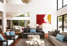 Altamer Resorts is home to three beachside villas—Antilles Pearl,African SapphireandBlue Diamond (pictured).