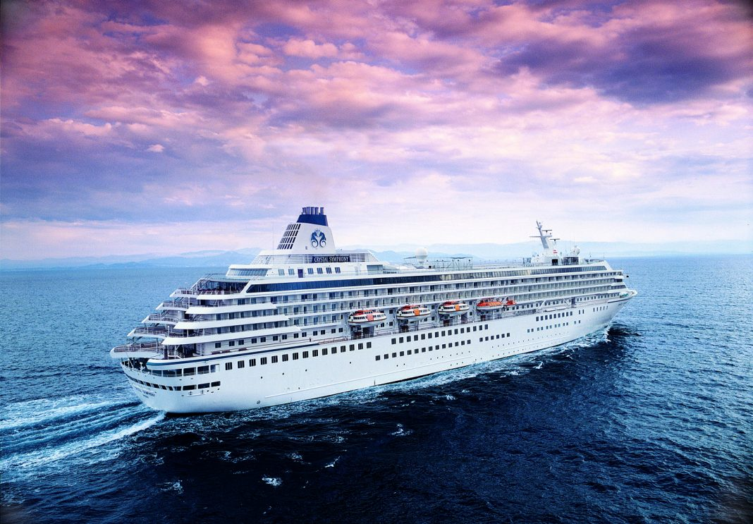 Crystal Cruises' CEO, Edie Rodriguez, will host a President's Cruisefrom Rome to Dubai aboard the Crystal Symphony.