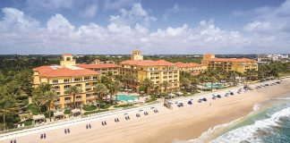 The Eau Palm Beach Resort & Spa in Florida.