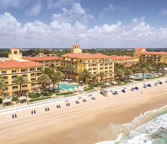 The Eau Palm Beach Resort & Spa in Florida.