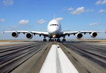 Emirates A380.