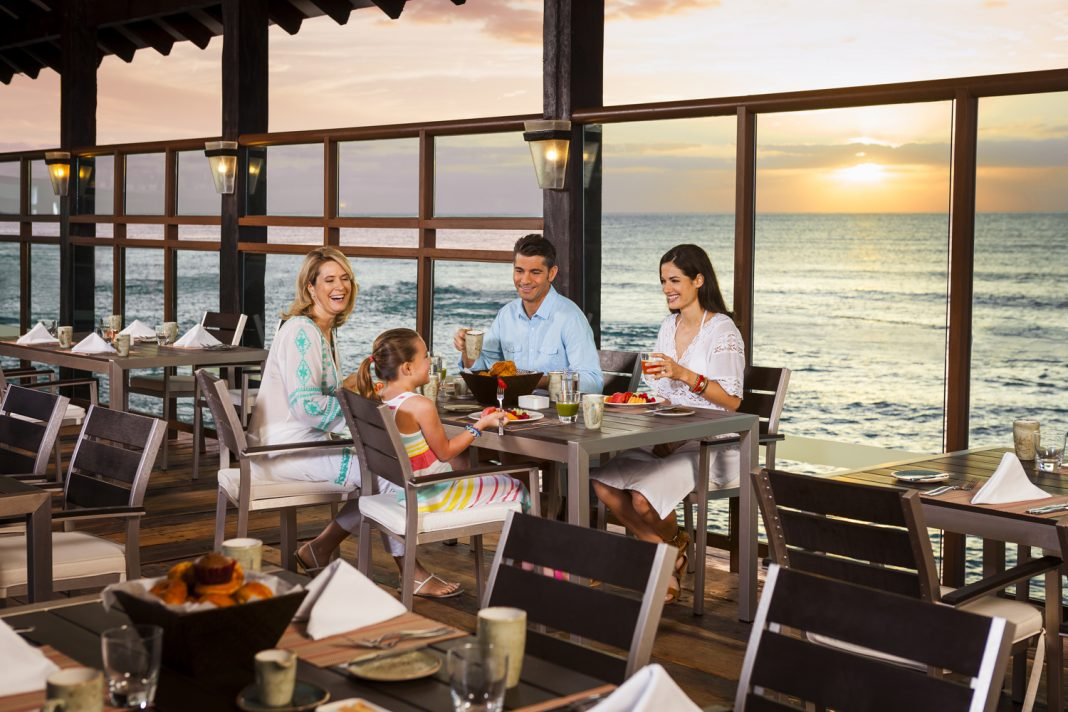 This year, grandparents can stay for free at Generations Riviera Maya, by Karisma, because when guests book a 2-bedroom suite, they'll receive a complimentary 1-bedroom oceanfront suite.