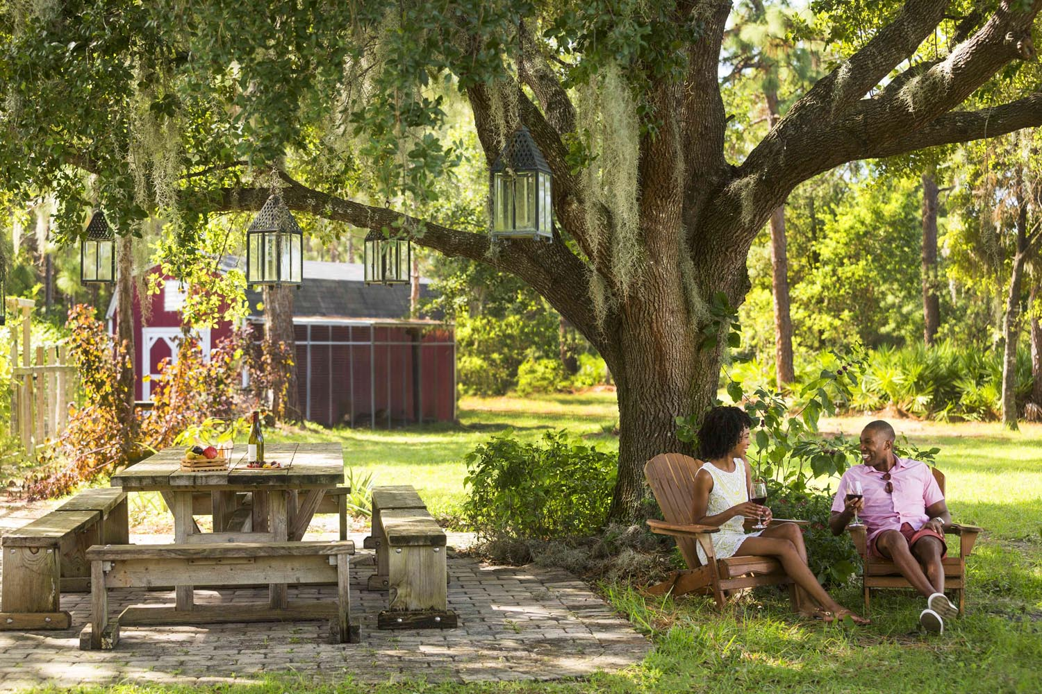 Grande Lakes Orlando'sWhisper Creek Fables series of farm-to-table experiences includes aFarm to Fare option forcouples, featuring a romantic dinner for two.