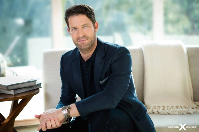 Nate Berkus has been named design ambassador Celebrity Cruises's newest class of ships—Edge Class.