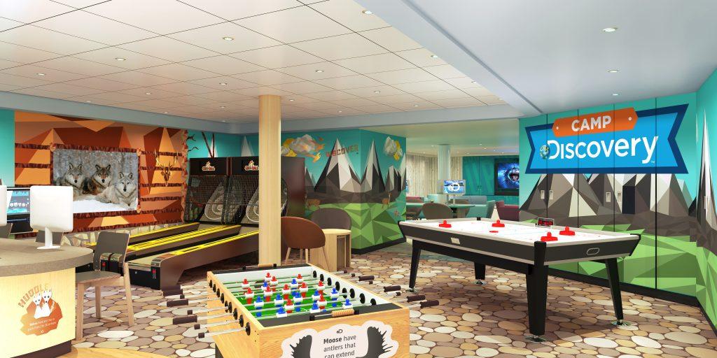 Princess Cruises Teem Lounge