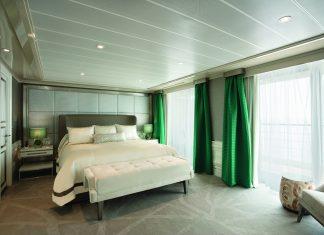 Regent Seven Seas the sumptuous Explorer Suite.