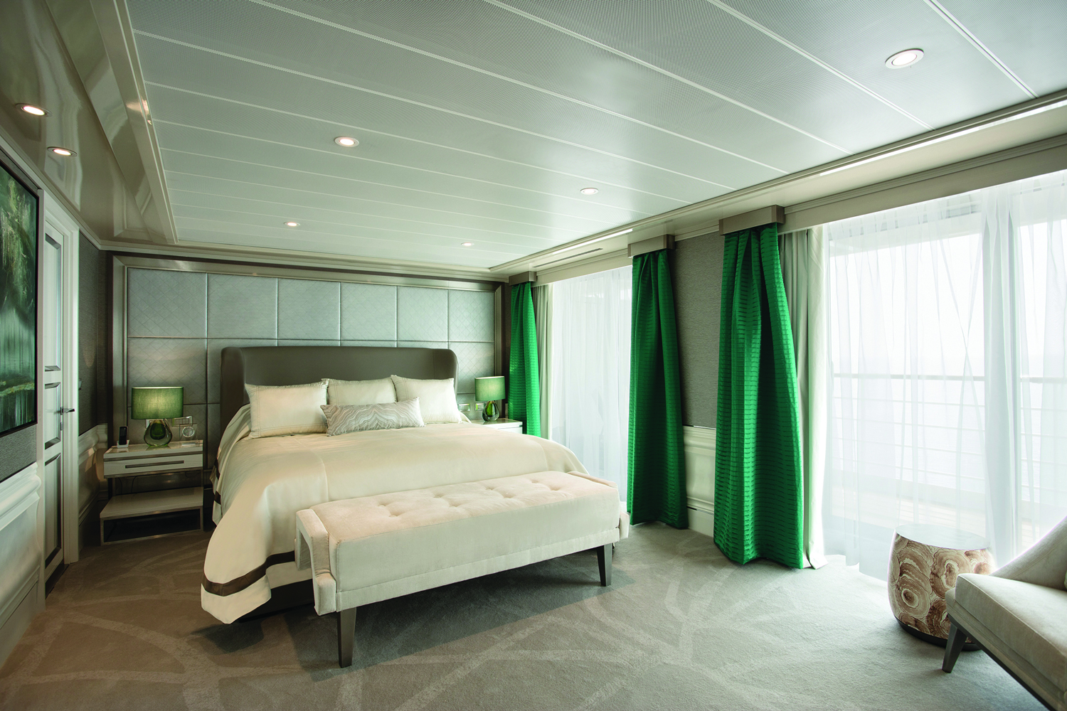 Regent Seven Seas the sumptuous Explorer Suite.