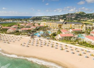 St. Kitts Marriott Resort & The Royal Beach Casino'sSavor St. Kittspackage includes a rum tasting and cooking lesson.