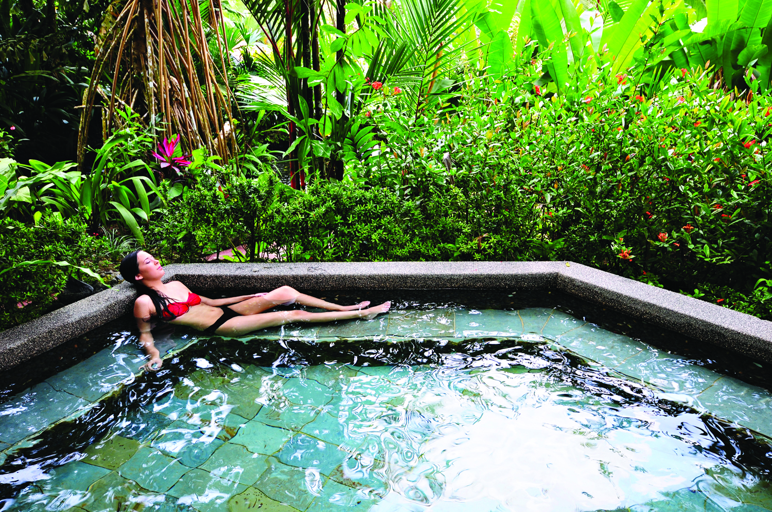 Tabacon Thermal Resort & Spa in Costa Rica offers an outstanding spa and thermal springs experience.