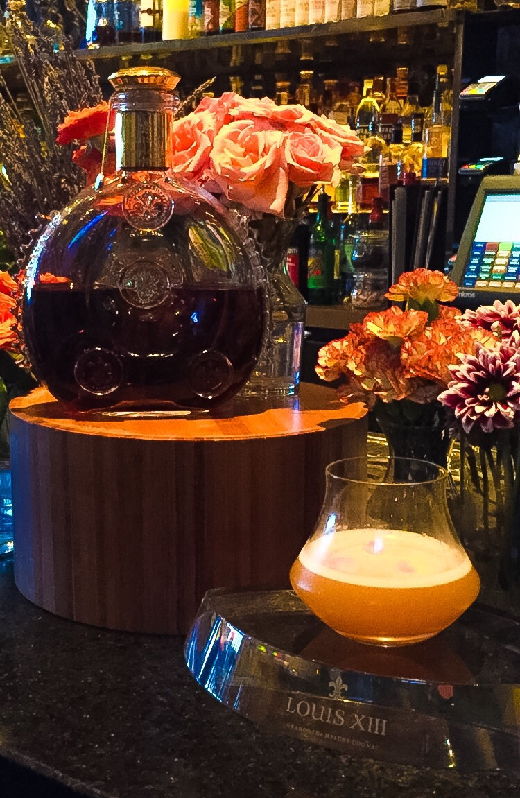 The Stylish Living Room Bar At W South Beach In Miami Plays Host To A Fantastical Cocktail Creation Made With Louis XIII Cognac Fresh Peach Nectar