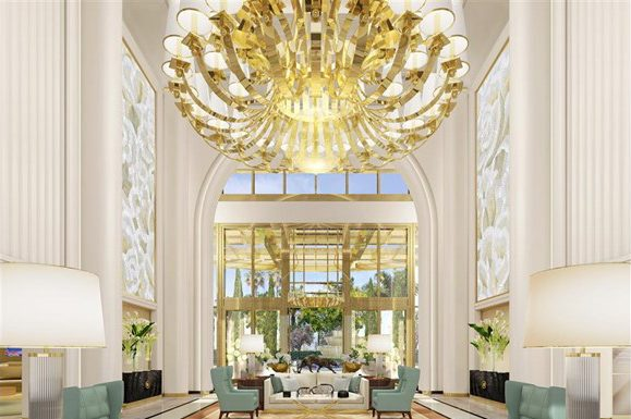 A rendering of the Waldorf Astoria Beverly Hills. (Photo credit: Waldorf Astoria Beverly Hills)