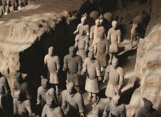 Terra Cotta Warriors inXi'an, China.