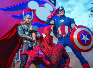 The Marvel Day at Sea on board Disney ships will debut this fall.