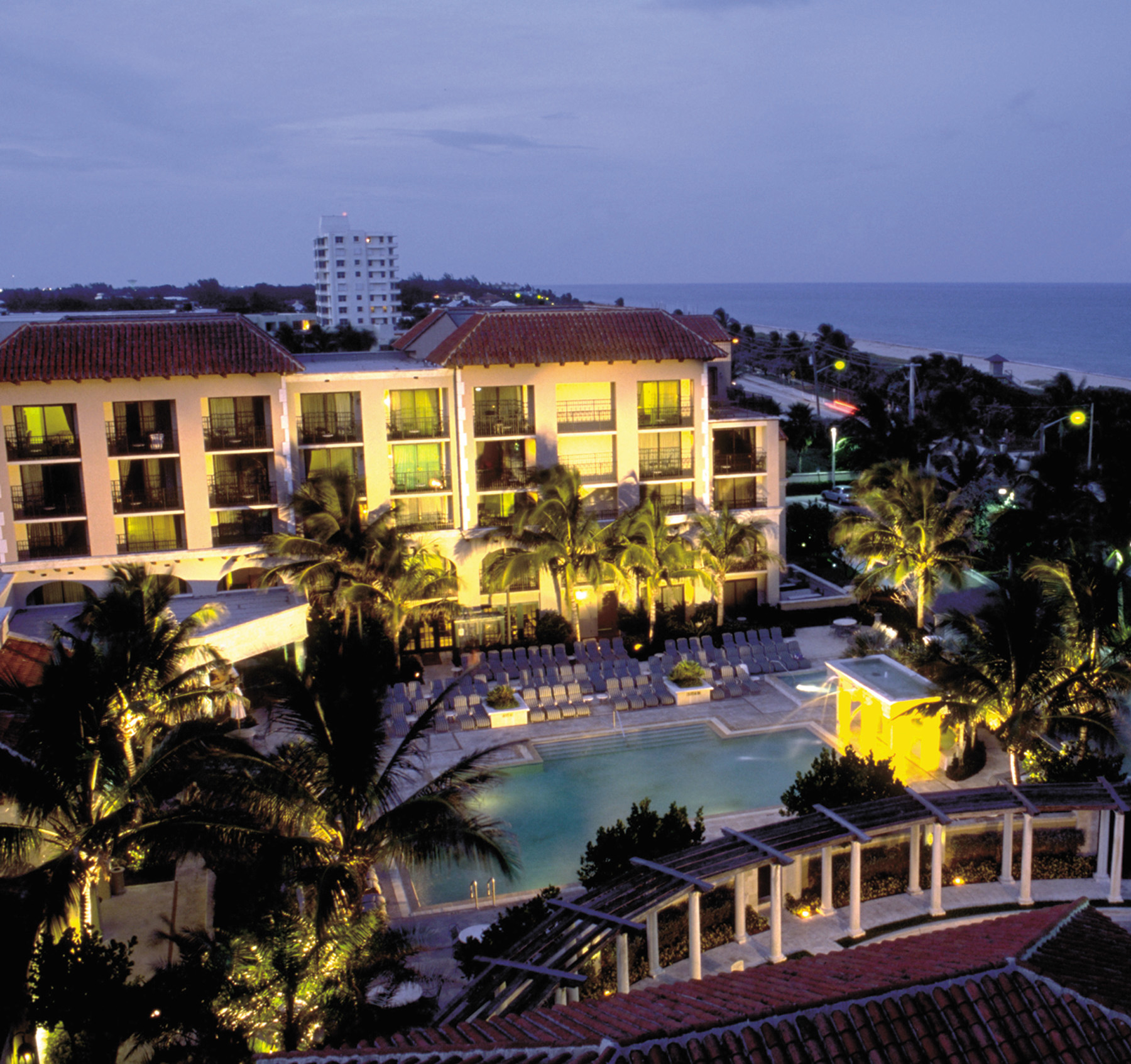 The Delray Beach Marriott.