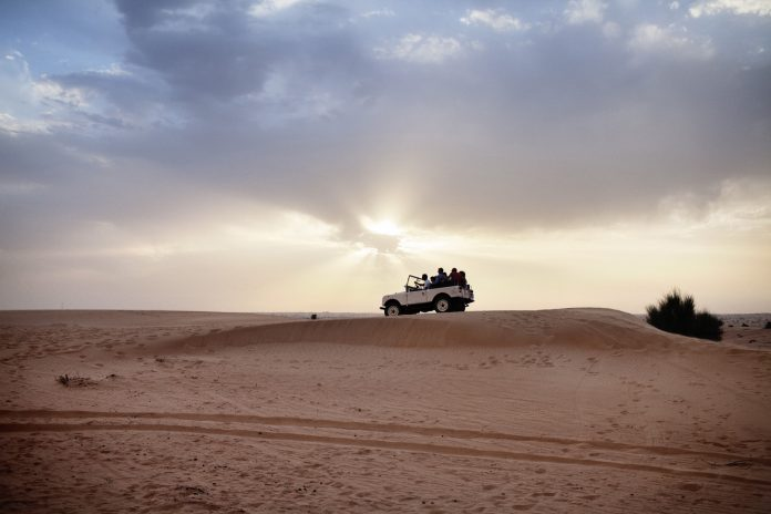 Dubai FAM: Picasso Travel's Dubai FAM includes a desert safari. (Photo credit: Dubai Corporation of Tourism & Commerce Marketing)