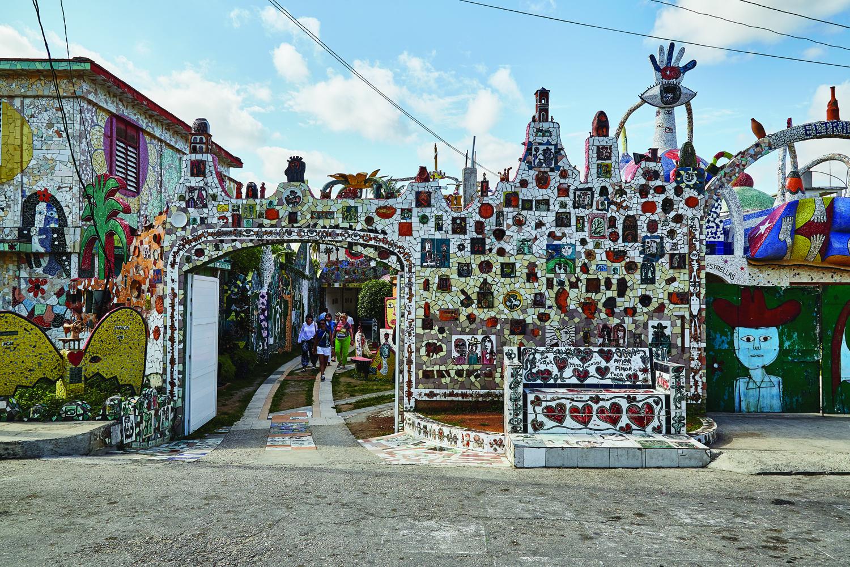 Fusterlandia, an arts complex in Havana.