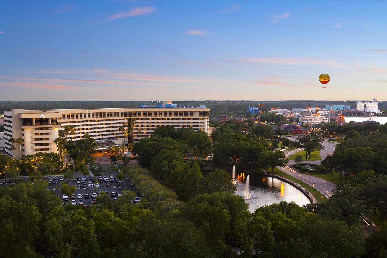Hilton Orlando Lake Buena Vista in Central Florida.