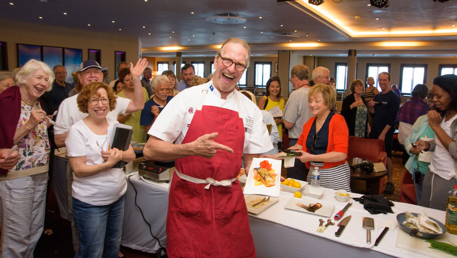 Unique James Beard Foundation programming will be available on Windstar sailings, including interactive culinary demonstrations by Windstar chefs.