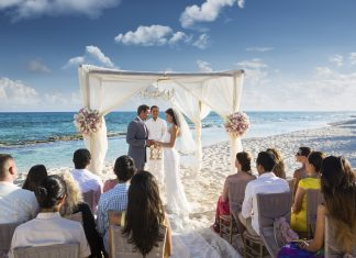 Couples planning a Karisma Hotels & Resorts Gourmet Inclusive Wedding Event may be eligible for wedding credits. El Dorado Casitas Royale (pictured).