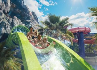 The star attraction at Universal Orlando's Volcano Bay will be the Krakatau Aqua Coaster.