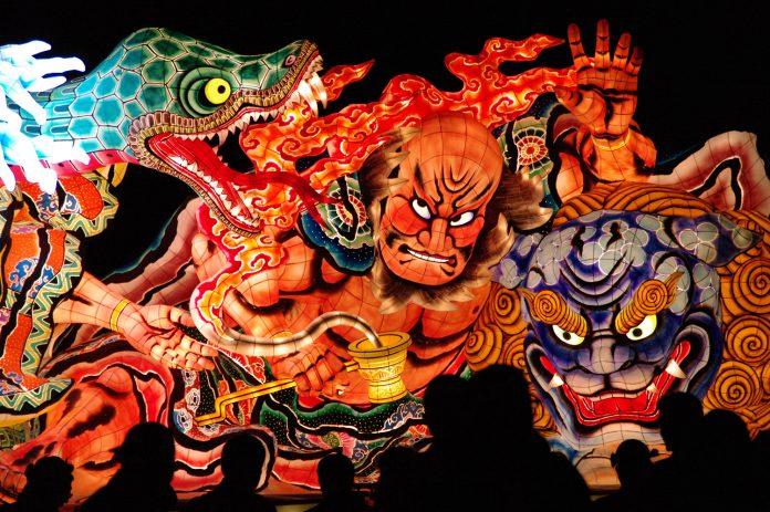 The Nebuta Matsuri Festival, a mainstay of summer, has giant paper lantern floats taking over the city.