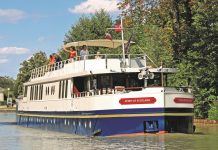 European Waterways new 12-passenger Spirit of Scotland luxury hotel barge will cruise through the heart of the Scottish Highlands beginning June 4, 2017.