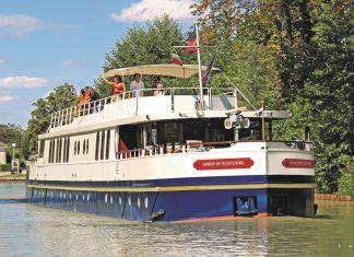European Waterwaysnew 12-passengerSpirit of Scotlandluxury hotel barge will cruise throughthe heart of the Scottish Highlands beginning June 4, 2017.