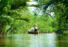Mekong Delta, Can Tho, Vietnam.