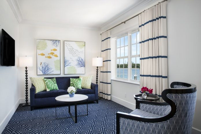 A suite at the new Oceans Edge Key West Hotel & Marina.