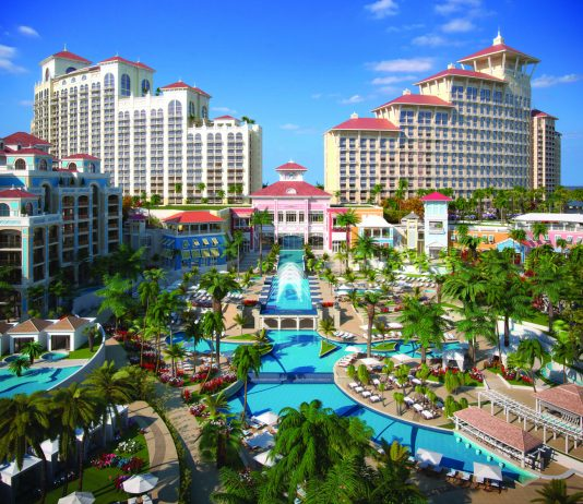 A rendering of the Baha Mar complex Nassau, Bahamas. (Photo credit:Bahamas Ministry of Tourism)