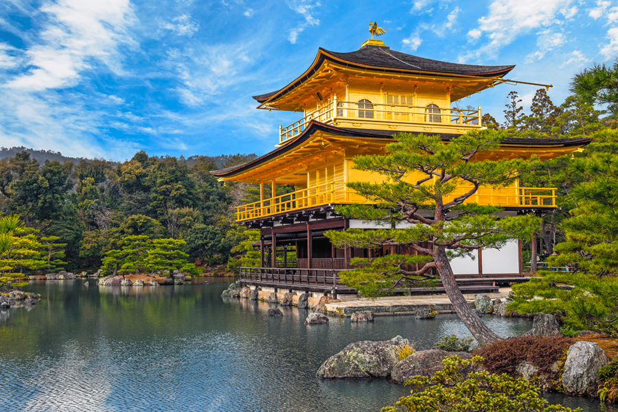 The Kinkakuji Temple is a Kyoto landmark and UNESCO World Heritage site famous for its Golden Pavilion. (Photo credit: Avanti Destinations)