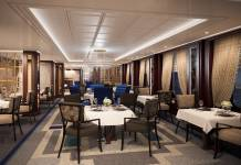 A rendering of the new Britannia Club restaurant.