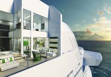 A rendering of the Edge Villa accommodations on board the Celebrity Edge, slated to debut late next year.