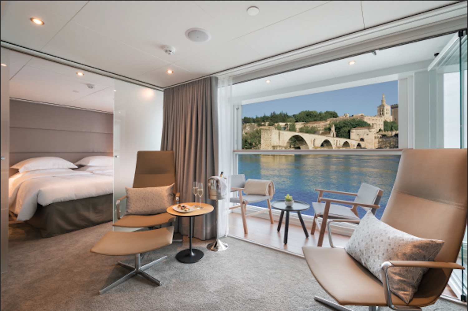 Emerald Waterwaysnew Provence sailing for 2017 takes place aboard the company's newly built 138-passengerEmerald Liberte.