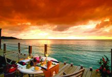 The resort's Sunset Cafe.