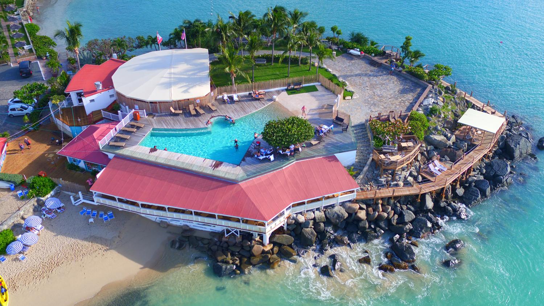 Grand Case Beach Club.